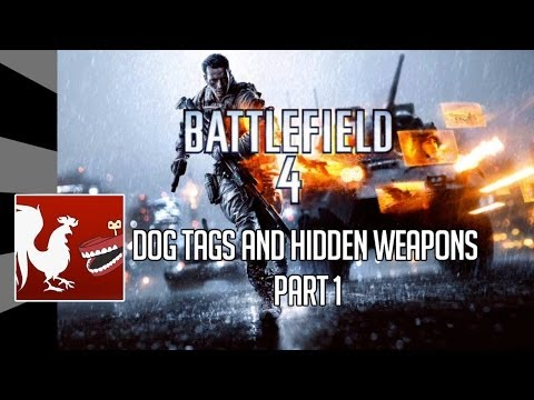 tags - Ray and Geoff show you where to find all the dog tags and hidden weapons in the first 3 missions in Battlefield 4 for the Xbox 360. RT Store: http://roostert...
