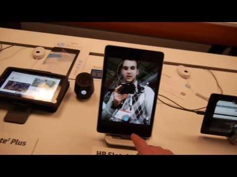 HP Slate 8 Pro Android tablet bemutató videó | Tech2.hu