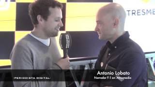 Entrevistas a M. Gené y A. Lobato en la presentación de la temporada de F1 en Atresmedia. 6-3-2014