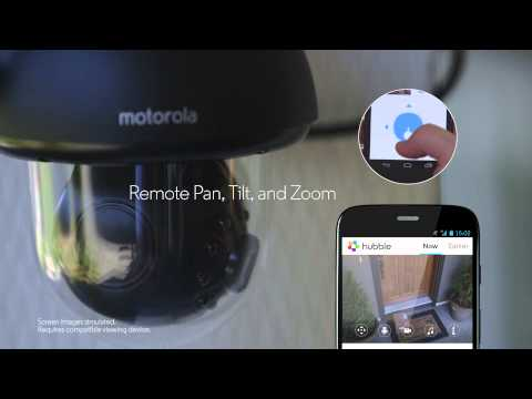 Motorola Focus 73 Connect HD Wi-Fi Outdoor Home Monitor
