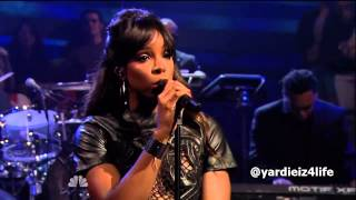 Kelly Rowland - Gone Live at Jimmy Fallon ft Wiz Khalifa