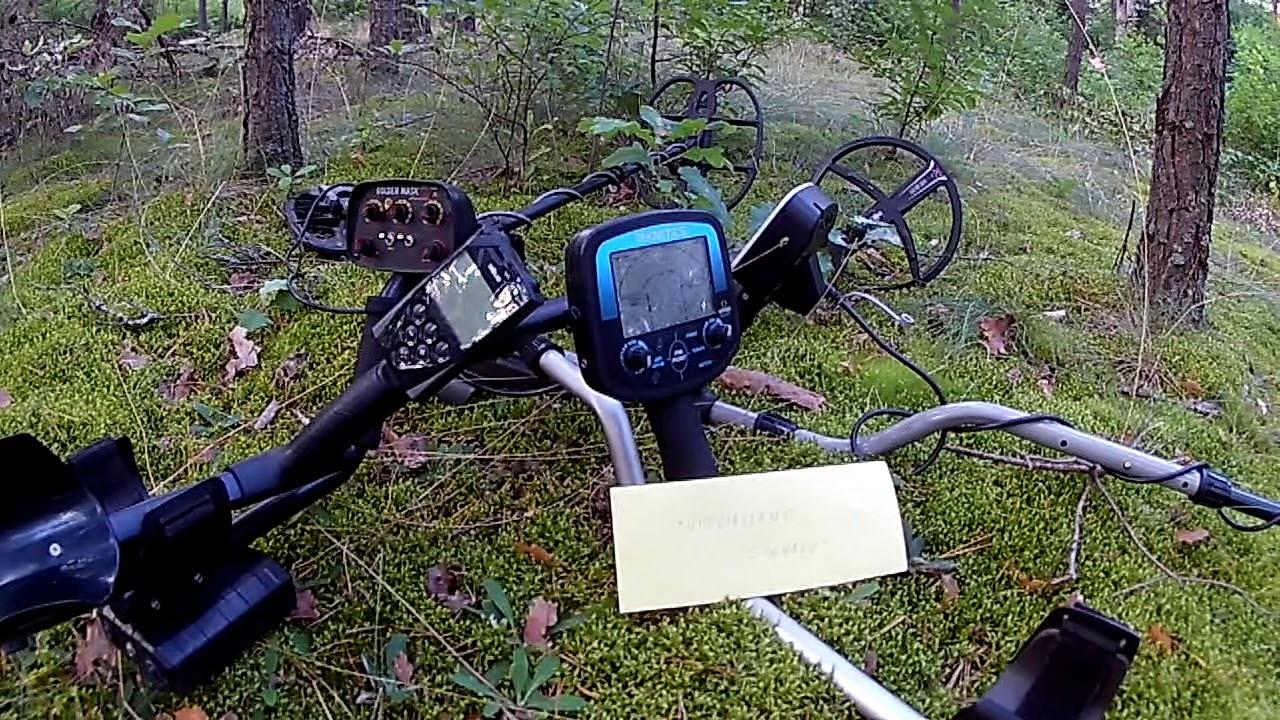 Metal detectors UNWANTED SIGNALS part 1 / YT: Alter71 Sapera