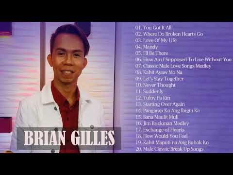 Best Songs of Brian Gilles - Brian Gilles Greatest Hits Playlist - Bagong OPM Ibig Kanta  Playlist11