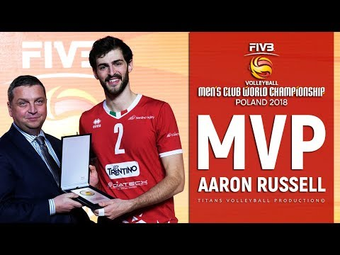 Aaron Russell   MVP FIVB Club World Championship 2018