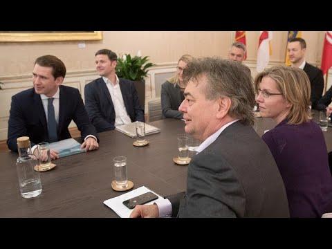 Österreich: ÖVP und Grüne sind einig, die neue Regieru ...