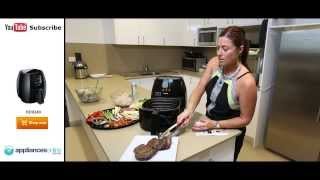 How to cook the perfect steak on a Philips Airfryer HD9240 - Appliances Online