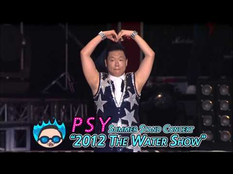 """PSY – Summer Stand Concert  """"2012 The Water Show"""" Spot"""