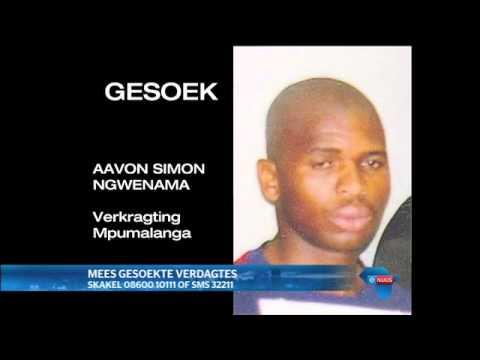 SA se mees gesoekte misdadigers / SA's most wanted criminals