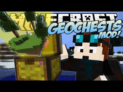 Minecraft | GEOCHESTS MOD! (World Eating Chests!) | Mod Showcase