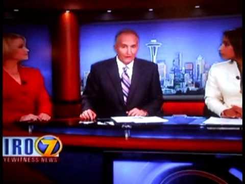 Steve Craible Meltdown On Kiro 7 News