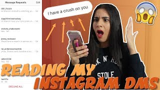 Video REACTING TO MY INSTAGRAM MESSAGES (DMS) #ThankfulThursdays | Just Sharon MP3, 3GP, MP4, WEBM, AVI, FLV Januari 2018