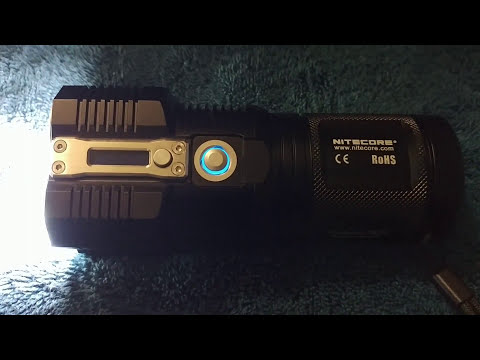 NiteCore TM26 including the NBP68HD extended battery review!