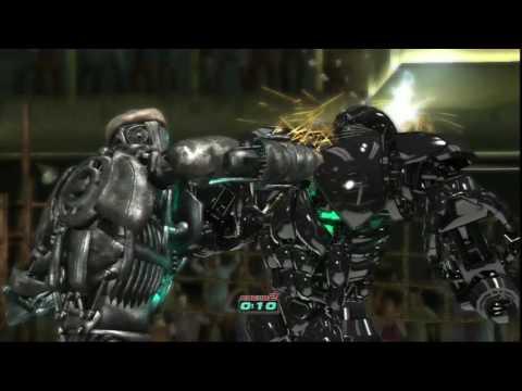 Real steel-ATOM vs ZEUS(the battle of Champions)WHO IS STRONGER/ЖИВАЯ СТАЛЬ