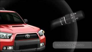 Intermittent Wipers (front) 4Runner Toyota of Slidell