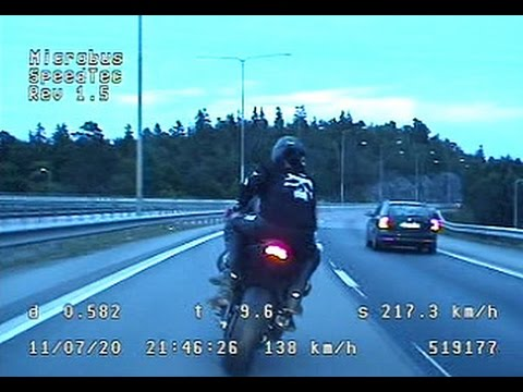 high speed - EDIT This video doesn´t show the crash! At 47:57 the chopper report the bike has wrecked. There is no pics of the bike after the crash in this video. Subt...