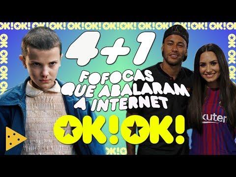 Notícias dos famosos - Novo casal Neymar e Demi Lovato? Nova namorada do Bonner e Stranger Things