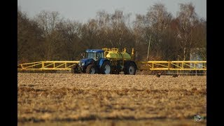 New Holland T7510 met Dubex Actor NTS spuiten