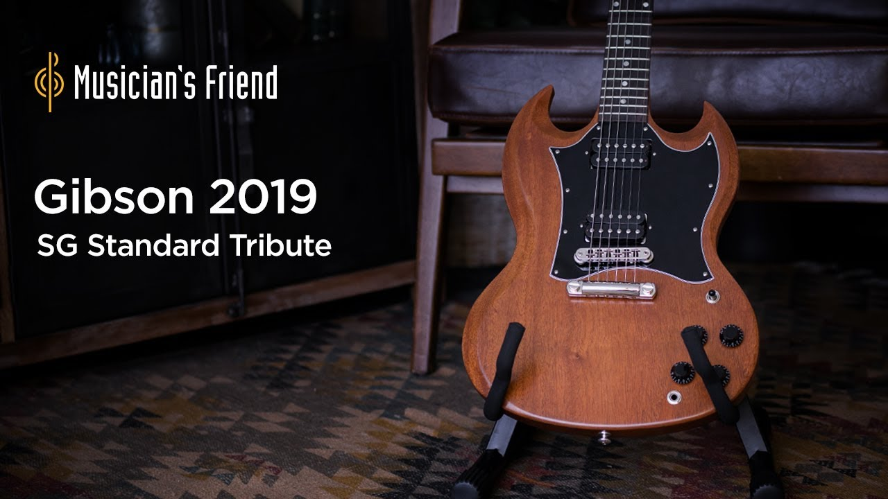 Gibson 2019 SG Standard Tribute Electric Guitar Demo