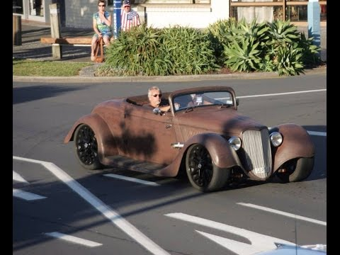 Rat Rod -34 ford coupe - behind the build