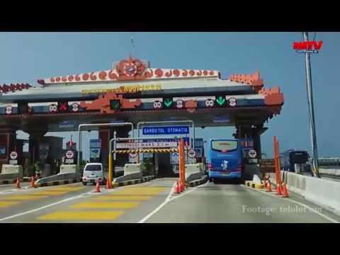 Jalan Tol Bali Mandara Ditutup Hingga Rabu Pagi