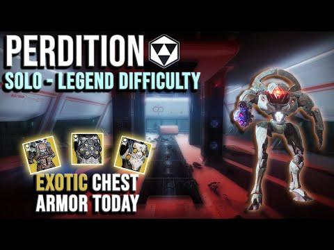 Legend Lost Sector Guide - Platinum Rewards - Perdition - Destiny 2 - Season of the Chosen