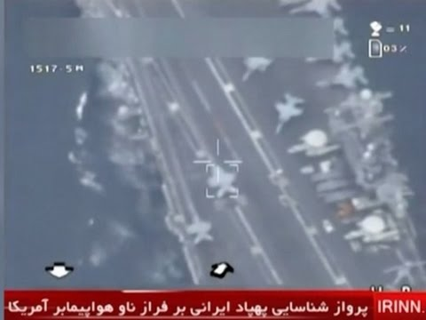 VIDEO: Iran says it flew drone over U.S. carrier