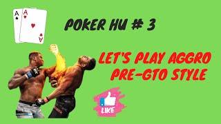 Poker Cashgame Coaching Video : NLHE 400€ Heads Up Part 3/3 In English