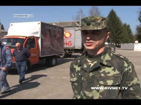 Місцеві хлібопекарі подарували рівненським військовим 2 тисячі пасок [ВІДЕО]