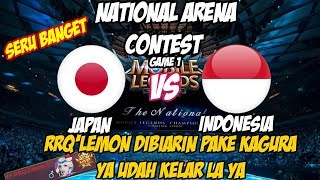 Download Video RRQ'Lemon(Kagura Tergila) DIBIARIN Dipake KAGURANYA, YA AUTO WIN | NATIONAL ARENA CONTEST 07112017 MP3 3GP MP4