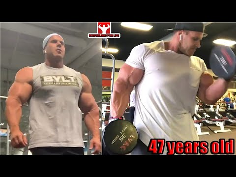 JAY CUTLER Training at 47 years old - Comeback or Not