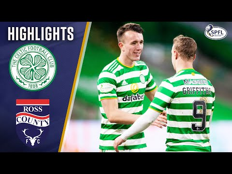 Celtic 2-0 Ross County   Turnbull and Griffiths Net in Comfortable Win   Scottish Premiership