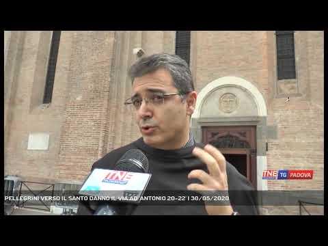 PELLEGRINI VERSO IL SANTO DANNO IL VIA AD 'ANTONIO 20-22'   30/05/2020
