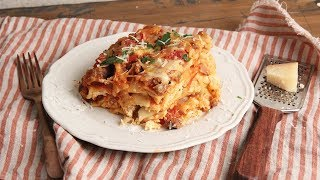 Slow Cooker Lasagna Recipe | Episode 1198 by Laura in the Kitchen