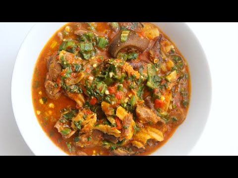 OGBONO OKRA SOUP - QUICK & EASY METHOD | COOK WITH ME