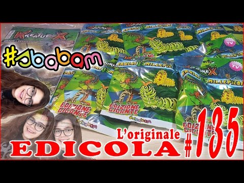 EDICOLA #135: KreatureX Bruchi contro Millepiedi Blind Bag & Magazine (by Giulia Guerra) (видео)