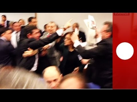 Americans Needs to Brawl in Congress Just Like Politicians in Turkey