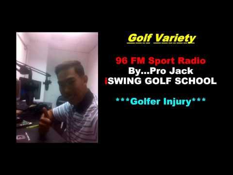 Golf Variety 96FM Sport Radio#ฺั…Pro jack iSWING GOLF SCHOOL