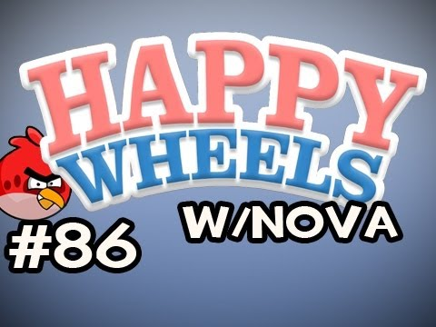 Happy Wheels w/Nova Ep.86 - Angry Birds Edition Video