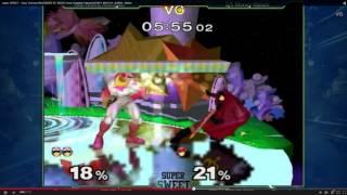 Mew2king analyzing Scar Vs. Crimson Blur