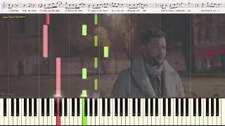 You Are The Reason - Calum Scott (Ноты и Видеоурок для фортепиано) (piano cover)