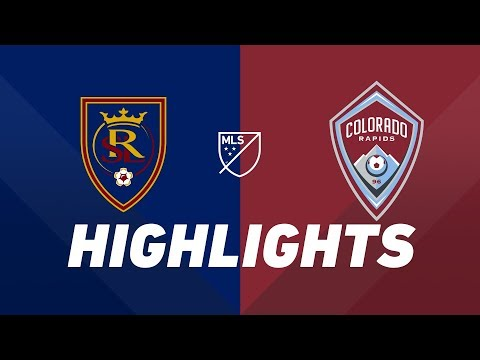 Video: Real Salt Lake vs. Colorado Rapids | HIGHLIGHTS - August 24, 2019