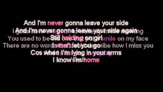 Daniel Bedingfield - Never Gonna Leave Your Side (Lyric)