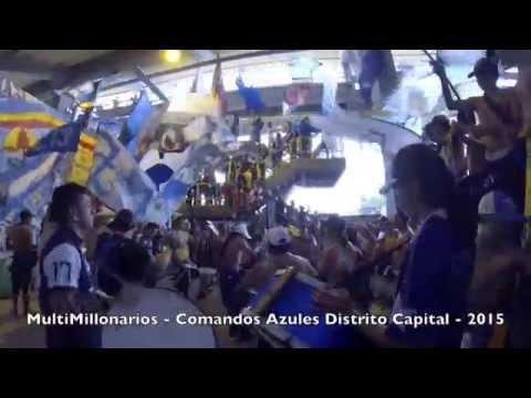 Previa CADC - Comandos Azules - Millonarios