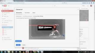 How To Create A YouTube Channel Art 2015 ( In Hindi )