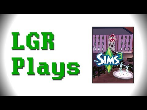 LGR Plays – The Sims 3 [Lucky Simoleon Casino]