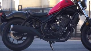 10. First Test 2017 Honda Rebel 300 and Rebel 500 - Cycle News