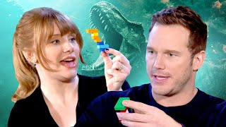 Jurassic World: Fallen Kingdom Cast Take Ultimate LEGO Challenge by IGN