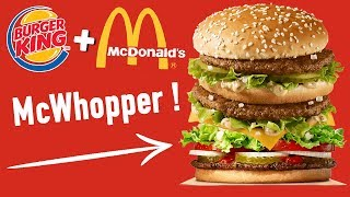 Video ON FUSIONNE DES PRODUITS BURGER KING & MCDO ! MP3, 3GP, MP4, WEBM, AVI, FLV Oktober 2017