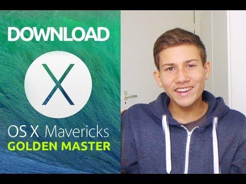Install Mac OS X 10.9 Mavericks – [UPDATED 25-10] Golden Master