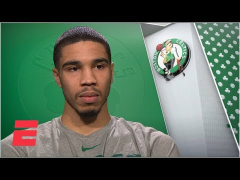 Video: Jayson Tatum says Kyrie Irving's critical comments come 'from a good place' | NBA Interview